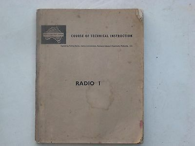 Australian Post Office Radio 1 1952