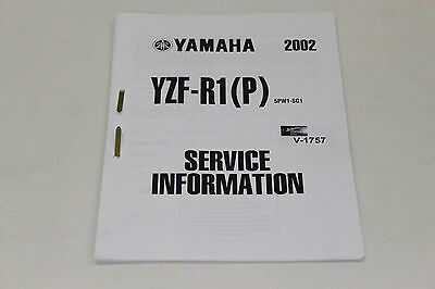 Yamaha YZF-R1(P), 5PW1, 02, Service Information, Stand 11/01,