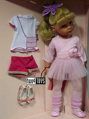 NEW Gotz HANNAH AT THE BALLET PLAY DOLL - 50 cm/19.8in. - NRFB