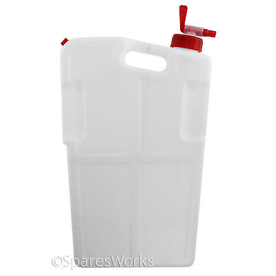 4L Water Dispenser Camping Portable 4 Litre Liquid Drinks Container Bottle & Tap