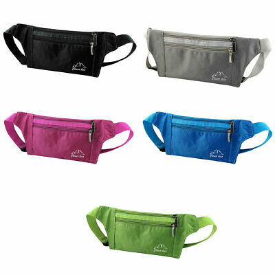 Adult Keys Phone Pouch Holder Adjustable Crossbody Pack Outdoor Sports Waist Bag