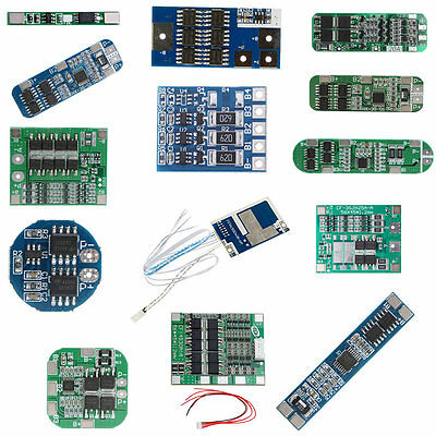 1S/2S/3S/4S/5S/6S PCB BMS Protection Board For 18650 Li-ion Lithium Battery Cell