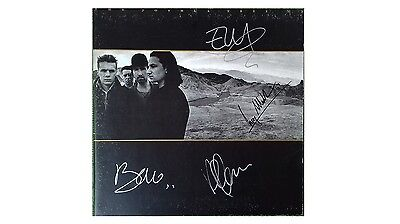 u2 joshua tree autografato/u2 joshua tree autograph-signed