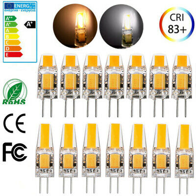 G4 3W/6W AC DC 12V Dimmable LED COB Bulb Light Replace Halogen Lamp
