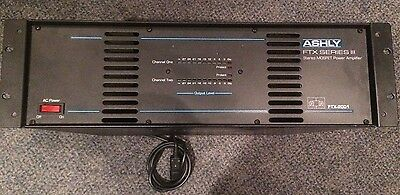 Ashly FTX2001 Amplifier - Used - Tested and working.
