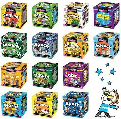 Brainbox Card Games - Maths Science English - Educational Games for KS1 and KS2