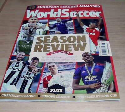 World Soccer magazine SUMMER 2017 Season Review Special, European Leagues &