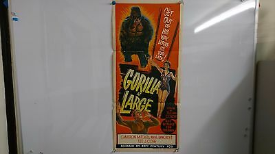 Gorilla At Large Original Daybill Movie Film Poster Anne Bancroft 1954