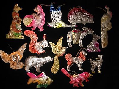 Vintage/Antique Collections CHRISTMAS Dresden pressed cardboard Ornament 50 №15