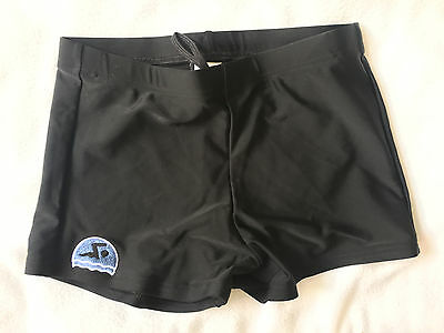 New Mens Stretch Ex Store Black Swim Swimming Boxer Trunks Shorts S-5XL