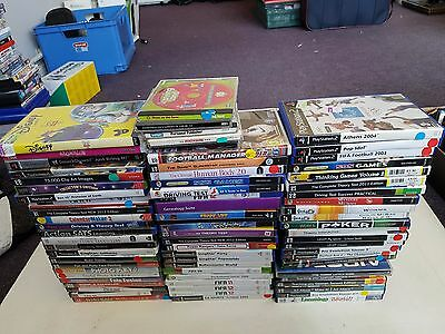 Job Lot Bundle Of Over 75x PC/ PS2/ PS3 / Xbox 360 Games, Trusted Ebay Shop