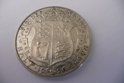 Good Quality 1926 George V  Half Crown  Low Mintage Year