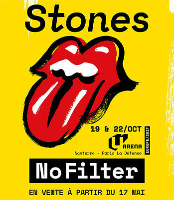 2 places Rolling Stones U-Arena 22/10 Categorie 2