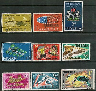Lot 4153 - Nigeria - 1960's Used Stamp Selection (9)
