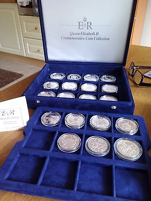 Royal Mail Silver Proof Queen Elizabeth II Commemorative Coin Collection