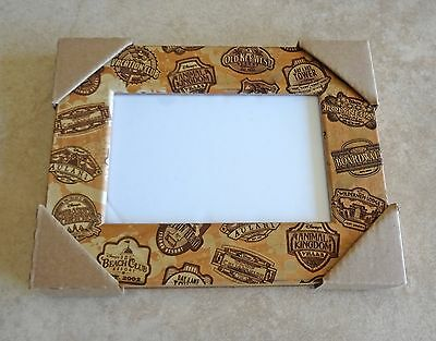 Disney Parks Mickey Disney Vacation Club Member 4x6 Photo Picture Frame New DVC