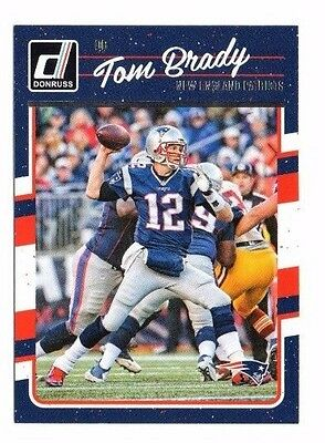 2016 Panini Donruss, Patriots, Team Set !! 10 Cards !! Tom Brady !!