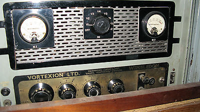 Vortexion Of Wimbledon All Valve Power Amp With Built In Valve Tester On Line
