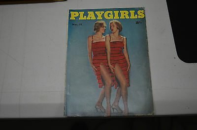 Playgirls No 11 published by Man Junior & Gordon and Gotch early 60s Oz mens mag
