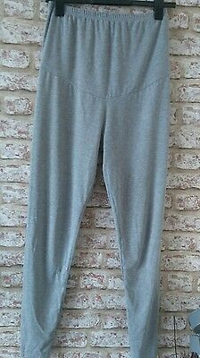 ladies grey maternity leggings size medium