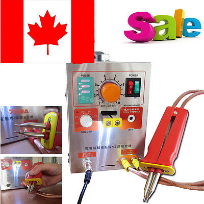 Professional 2in1 Handheld Pulse Spot-welding 709A Battery Soldering Machine 60A