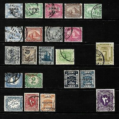 Egypt..............a Splendid Lot Of Old Stamps..............80830
