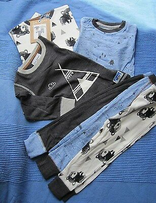 NEXT Boys Snuggle Fit Pyjamas Teepee 12-18 months BNWT
