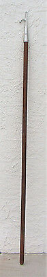 "Maritime Ship Marine Vintage   Boat Hook  78"" Wood Handle"