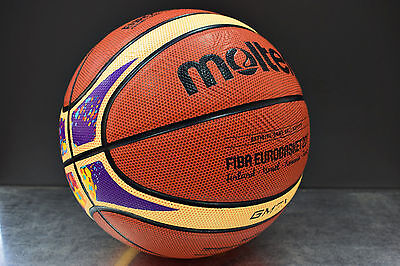 Molten BGM7X-E7T basketball ball replica official size 7 (29.5) Eurobasket 2017