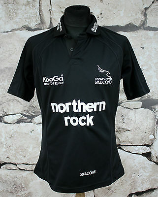 KOOGA  _ NEWCASTLE FALCONS RUGBY 2004/2006 HOME Shirt Jersey size M _ (432 )
