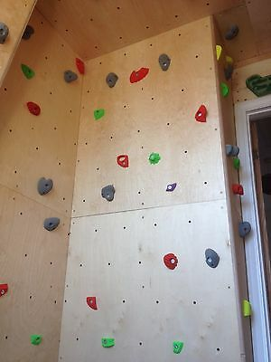 Climbing Wall panels for building your own bouldering wall with T-nuts
