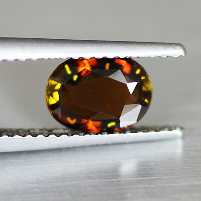 1.18Cts Ravishing Color Natural Unheat  Andalusite Loose Gemstone