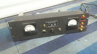 Vintage Lambda Electronics Regulated Power Supply 28M Vacuum Tube 200 - 325 VDC