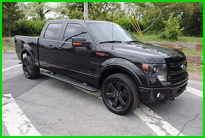 2013 Ford F-150 FX4 uper Crew FX4 Turbo 4x4 Nav Roof Repairable Rebuildable Salvage Wrecked EZ Fix