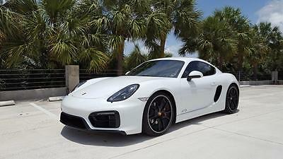 2016 Porsche Cayman GTS Coupe Racing Yellow-Black Satin Wheels-Literally Unused-Porsche Certified Pre-Owned !!