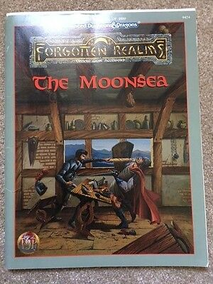 The Moonsea - Forgotten Realms AD&D 2nd edition