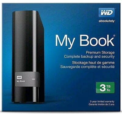 Western Digital My Book 3tb external hard drive *Brand new and sealed*