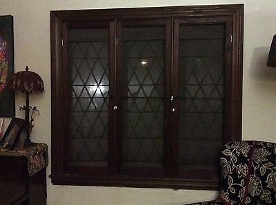 Antique 1930 Led Stain Glass Windows - $100 Each Negotiable (Yonkers)