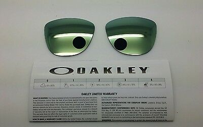 Oakley FROGSKINS lenti ricambio colore emeral iridium model 9013 cal 55 ORIGINAL