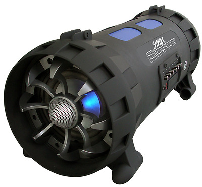 Pyle Street Blaster PBMSPG100 Rugged and Portable Bluetooth Wireless BoomBox