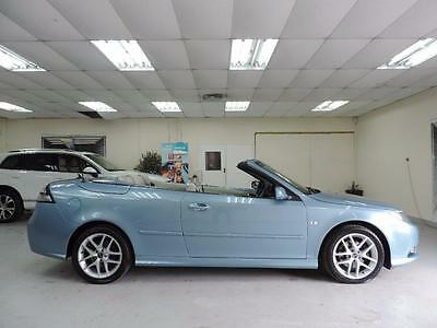 2009 Saab 9-3 1.9 TiD Vector Sport CONVERTIBLE Automatic, cream leather