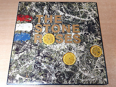 EX-/EX !! The Stone Roses/Self Titled/1989 Silvertone LP/First Pressing/A2/B2