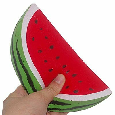 18cm Slow Rising Squishy Jumbo Watermelon Fruit Scented Bread Squeeze Toy Gift