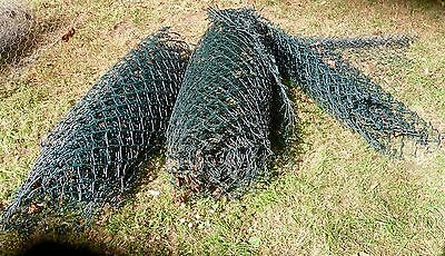 Coated Mesh Wire Green Fencing  - 18 mtrs. all good condition