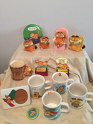 Huge Garfield Lot, Lots Of Pictures, 1978 And More.