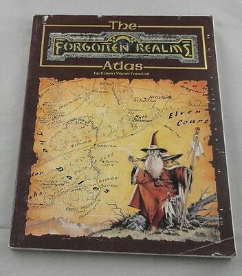 Advanced Dungeons and Dragons: The Forgotten Realms Atlas AD&D TSR8442