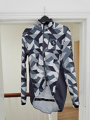 Morvelo Fuse 'winter attack' waterproof Cycling jacket / jersey size large