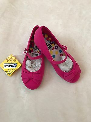 Toddler Girls Size 10 Pink Mary Jane Bow Tie Shoes