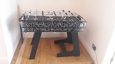 multi games table with hockey, footy and table tennis