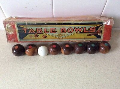 table bowls set, incomplete